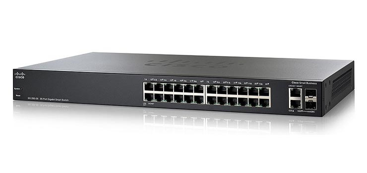 Cisco SG200-26 - Best Network Switches 2016 - 10 Best Ethernet Switches