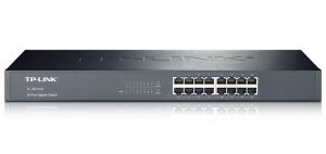TP-LINK 16-Port Gigabit Ethernet Switch (TL-SG1016) - Best Network Switches 2016 - 10 Best Ethernet Switches