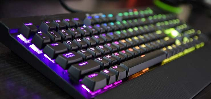Corsair K70 RGB Rapidfire - Best Gaming Keyboards 2017 - Top 10 Mechanical Keyboard Reviews