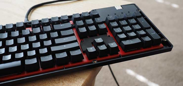 Das Keyboard X40 - Best Gaming Keyboards 2017 - Top 10 Mechanical Keyboard Reviews