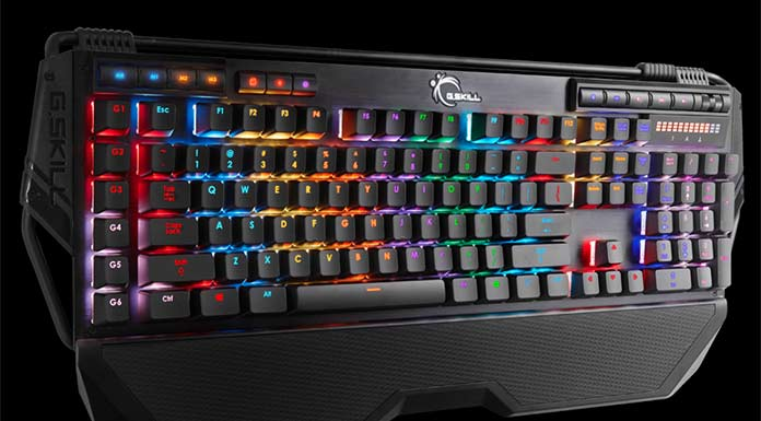 G.SKILL RIPJAWS KM780R - Top 10 Best Cheap Mechanical Keyboard 2017 - Buying Guide