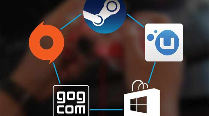 Say Hello to Steam, GOG, Origin, and Uplay.