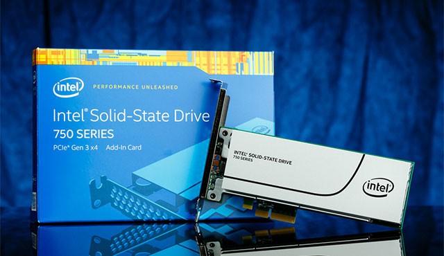 Intel SSD 750 PCIe SSD - Top 7 Best PCI Express (PCIe) SSD Drives In 2016