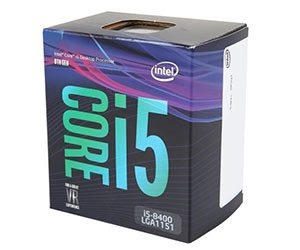 Intel Core i5 8400 - Best CPUs (Processors) For Gaming In 2018