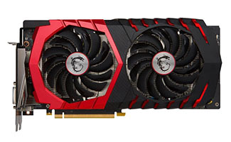 MSI GAMING GeForce GTX 1060 6GB GDDR5 - Best Graphics Cards 2017