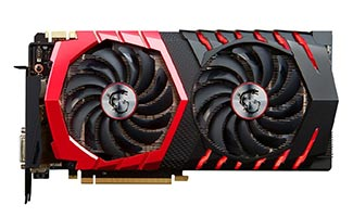 MSI GAMING GeForce GTX 1070 8GB - Best Graphics Cards 2017