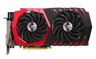 MSI GAMING Radeon RX 480 GDDR5 8GB