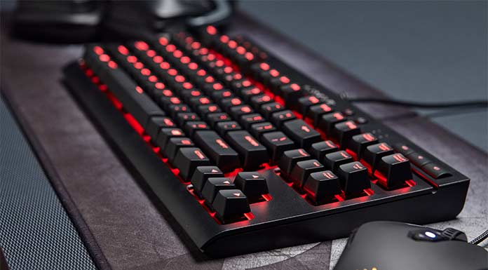 Corsair K63 - Top 10 Best Cheap Mechanical Keyboard 2017 - Buying Guide