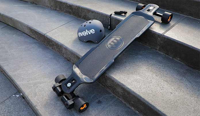 Evolve Carbon GT 2-in-1 - Best Electric Skateboard 2017