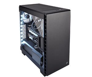 Corsair Carbide Clear 400C - Best PC Cases 2018