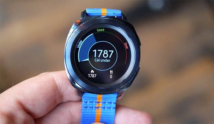 Samsung Gear Sport - Best smartwatch 2018