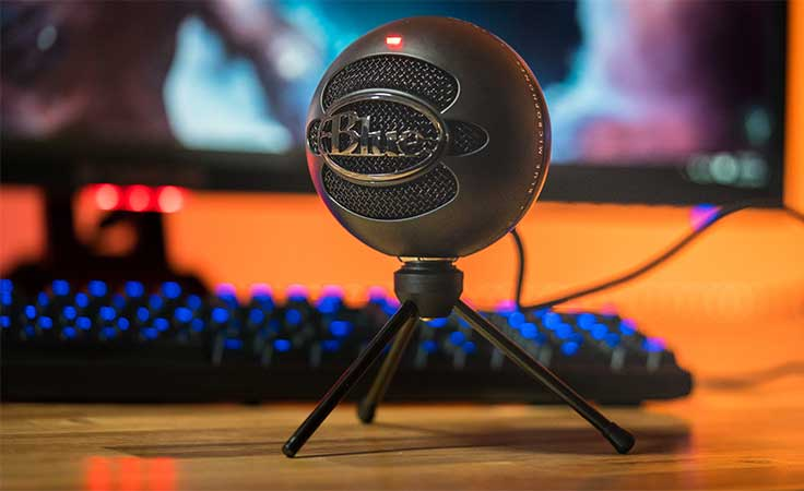 Blue Snowball USB Microphone - Best USB Microphone 2018 - Top 10 Best Microphone For Streaming