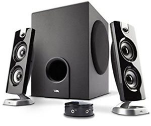 Cyber Acoustics 2.1 Computer Speaker with Subwoofer CA-3602 FFP