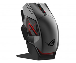 ASUS ROG Spatha RGB Wireless Wired - Best Wireless Gaming Mouse 2019