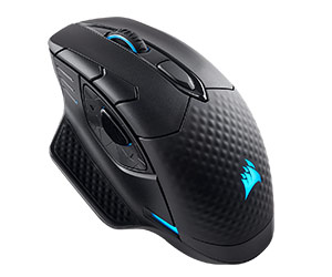 Corsair Dark Core Wireless - Best Wireless Gaming Mouse 2019