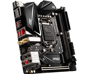 MSI MPG Z390I GAMING EDGE AC - Best Motherboard For i9-9900k
