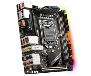 MSI Z370I GAMING PRO CARBON AC - Best Mini itx Motherboard 2019